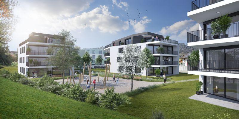 Aargau Baden Gebenstorf Vogelsang Gebenstorf - Leben am Wasserschloss