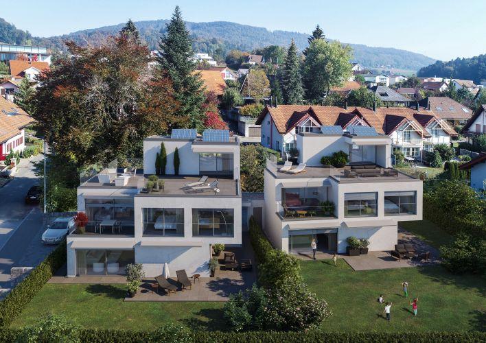 Aargau Zofingen Oftringen Am Dorfbach Oftringen