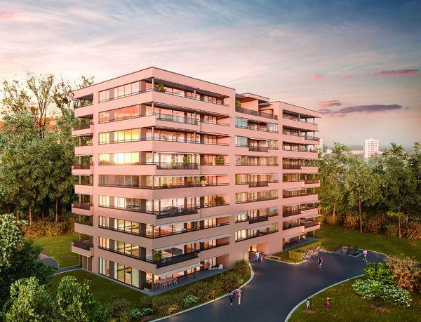 Basel-Landschaft Arlesheim Allschwil Verkauf: 41 Eigentumswohnungen in Allschwil