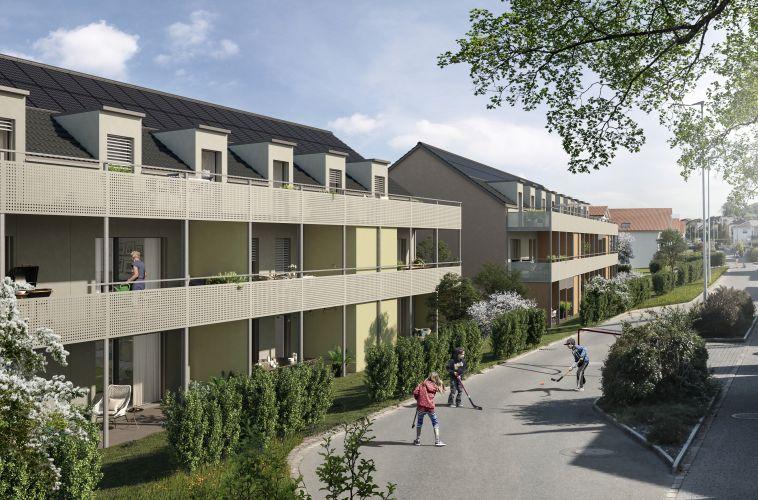 Aargau Laufenburg Münchwilen AG Dell-Wohnen, Dorfstrasse 1a-d, Münchwilen
